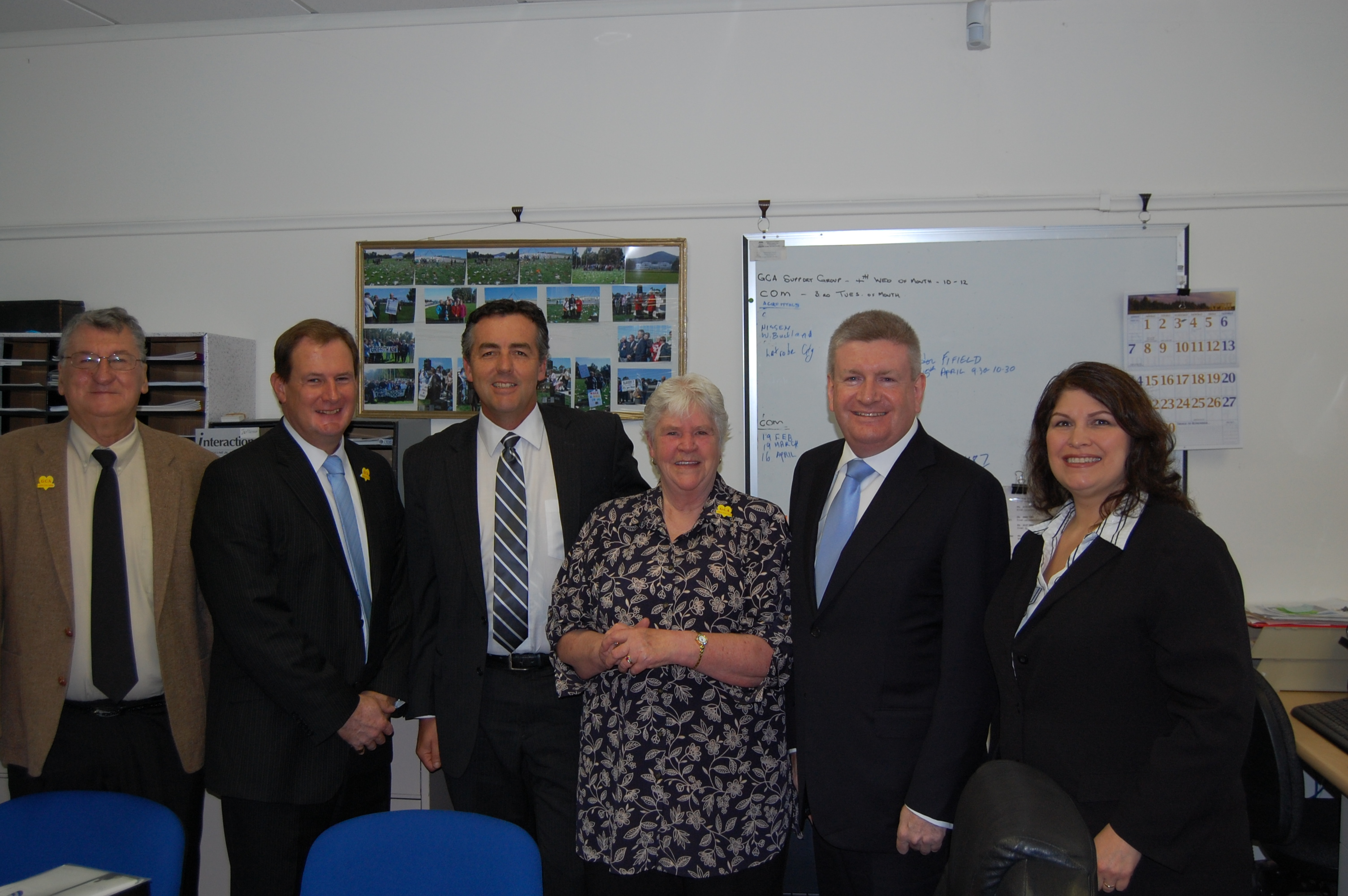 Senator Fifield and GCA Meet
